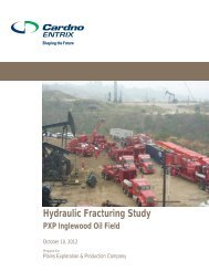 Hydraulic Fracturing Study Inglewood Field10102012