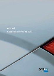 Octoral Catalogue Produits 2010