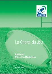 ix CHARTER [FR]. - International Rugby Board