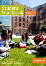 Student Handbook 2012-13 - blogs - Oregon State University