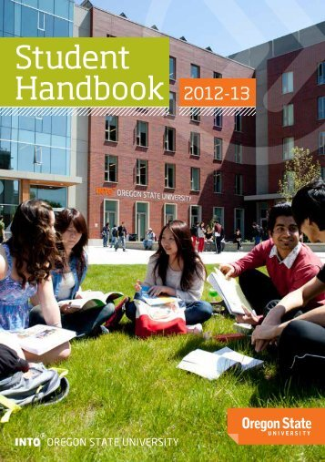 Student Handbook 2012-13 - blogs - Oregon State University