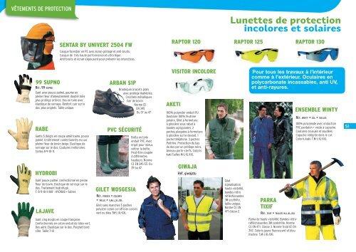 Lunettes De Protection Incolores Et Solaires Landi Motoculture