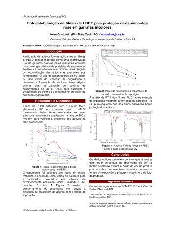 MAT248 - Sociedade Brasileira de Química