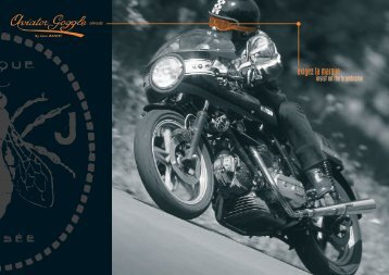 catalogue aviator goggle - royal enfield pays basque