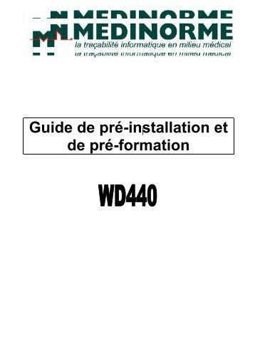 Installation – WD440 - achats-publics.fr