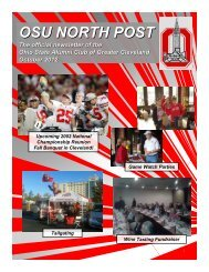 OSU NORTH POST Oct 2012
