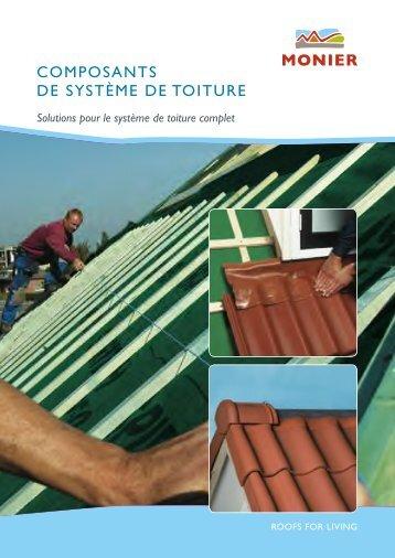 cOMpOsaNTs dE sysTèME dE TOITuRE - Monier