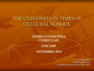 The university - Unicamp