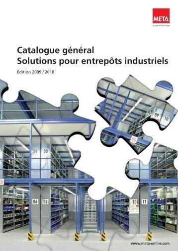 Catalogue général Solutions pour entrepôts ... - Nona Consulting