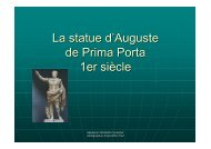 La statue d'Auguste de Prima Porta 1er siècle - Des outils pour la ...