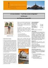 Programme (pdf) - Voyages et Culture