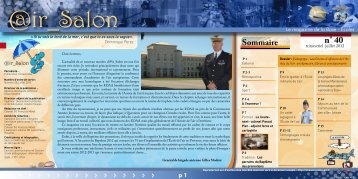 n° 40 - Ecoles d'officiers de l'armée de l'air
