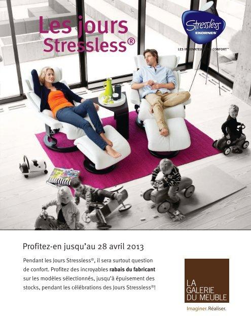 Promotion Stressless Mars Avril La Galerie Du Meuble