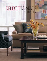 Download our Selectionals Brochure to learn more. - Stickley