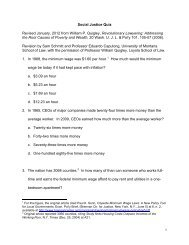 Social Justice Quiz Revised January, 2012 from ... - TownNews.com