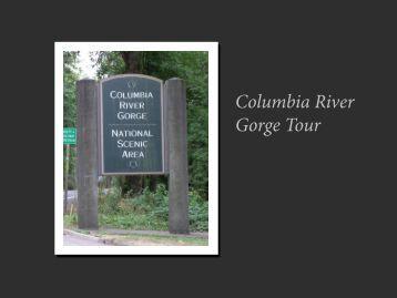 Columbia River Gorge Tour - blue