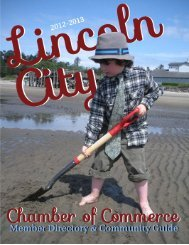 Lincoln City Chamber of Commerce Board of ... - TownNews.com