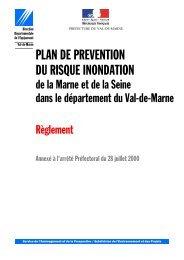 PLAN DE PREVENTION DU RISQUE INONDATION - Cartorisque