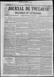 POLITIQUE ET LITTI4AJflE. - Bibliothèque de Toulouse