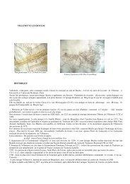 VILLENEUVE LES BOULOC HISTORIQUE Vallonnée ... - Blog Gratuit