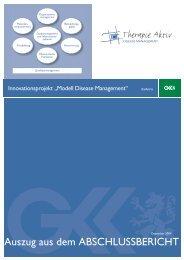 Modell Disease Management