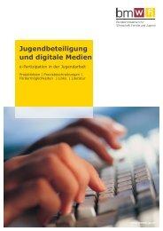 Jugendbeteiligung und digitale Medien - e-Partizipation in ... - BMWA