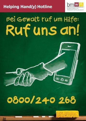 Freecard Helping Hand(y) Hotline - BMWA
