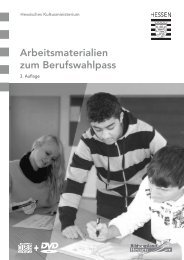 Arbeitsmaterialien zum Berufswahlpass - Berufliche Orientierung ...