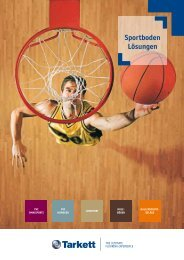 Download Tarkett Sport Indoor-Broschüre
