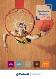 Sportboden Lösungen - Tarkett