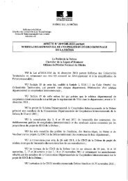 rationalisation des EPCI à fiscalité propre - APFP - Association de ...