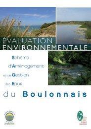 Evaluation environnementale du SAGE du Boulonnais