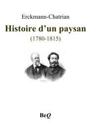 Histoire d'un paysan I - La Bibliothèque électronique du Québec