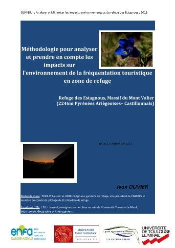 Méthodologie pour analyser et prendre en compte les impacts sur l ...