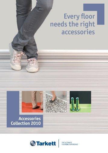 Every floor needs the right accessories - Tarkett