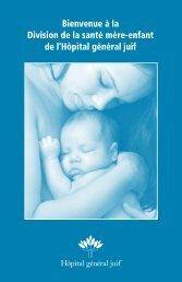 Bienvenue à la Division de la santé mère-enfant de l'Hôpital général ...