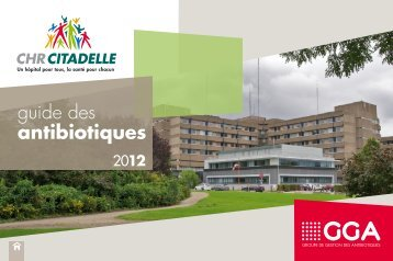 antibioguide_CHR_2012 - Bienvenue au CHR de la Citadelle