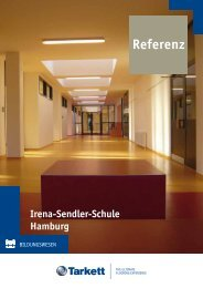 Irena-Sendler-Schule Hamburg Referenz - Tarkett