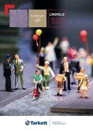 Linoleum LINOVILLE Get Close to Lino - Tarkett
