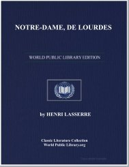 NOTRE-DAME, DE LOURDES - World eBook Library