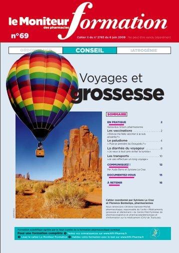 2009 - Voyages et grossesse - Christine Caminade Conseil
