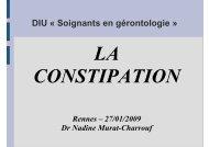 N Murat-Charrouf - Constipation PA [Mode de compatibilité] - SGOC