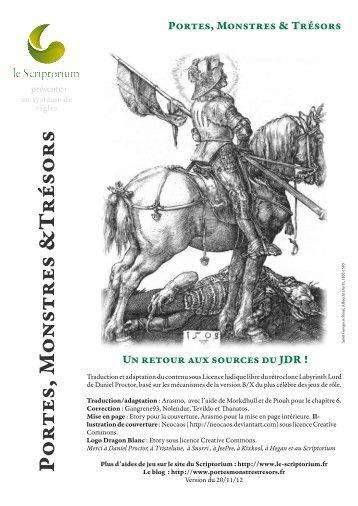 Livre de base - Le Scriptorium