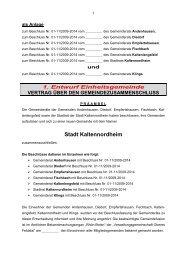 Änderungsvorschlag zum Vertrag - Diedorf