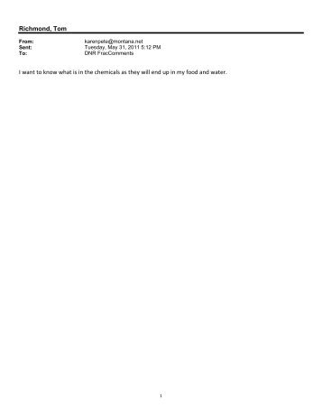 Microsoft Office Outlook - Memo Style - Montana Board of Oil and Gas