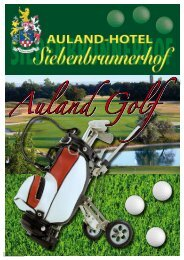 Auland Golf-Packages