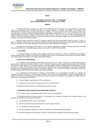 Processo-seletivo - Bolsa Universidade