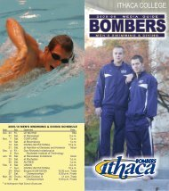 Men's Swimming and Diving - Ithaca College Athletics
