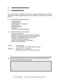 2.2 Die Methoden der Marktforschung 2.2.1 Die ... - Bommi2000.de