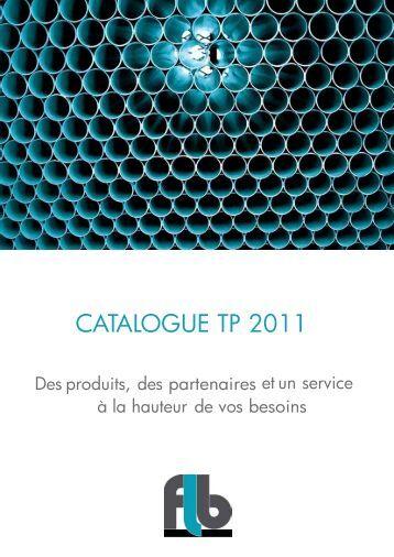 Catalogue principal 2011 (Format PDF) - Flb-plast.fr